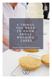 5 Things You Need to Know About Wedding Cakes