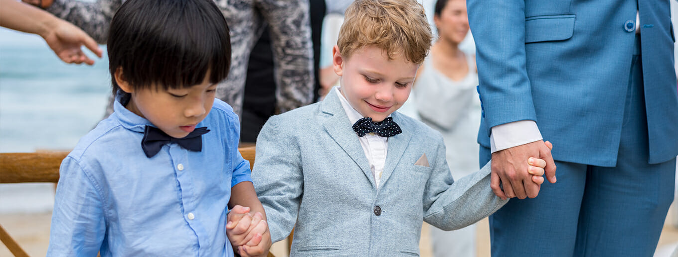 Tips for Having Kids at Your Wedding | Texoma Bride Guide Blog