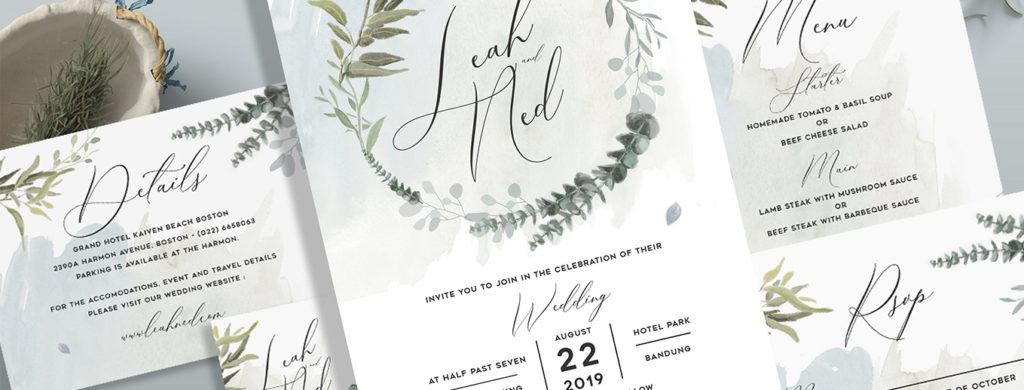 Digital Or Printed Wedding Invitations
