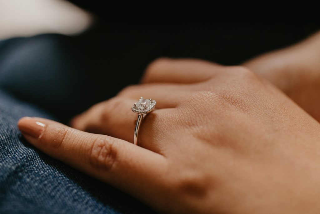 Engagement Ring Styles and Which One Is Right For You: Halo Engagement Ring