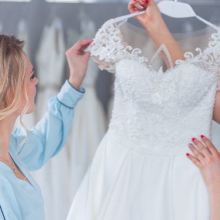 On the Texoma Bride Guide Blog - 6 Tips for Wedding Dress Shopping