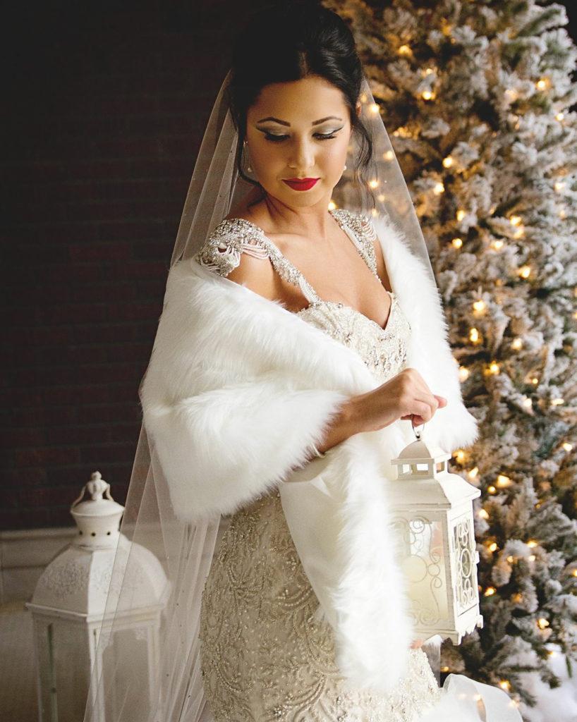 winter white bridal inspiration