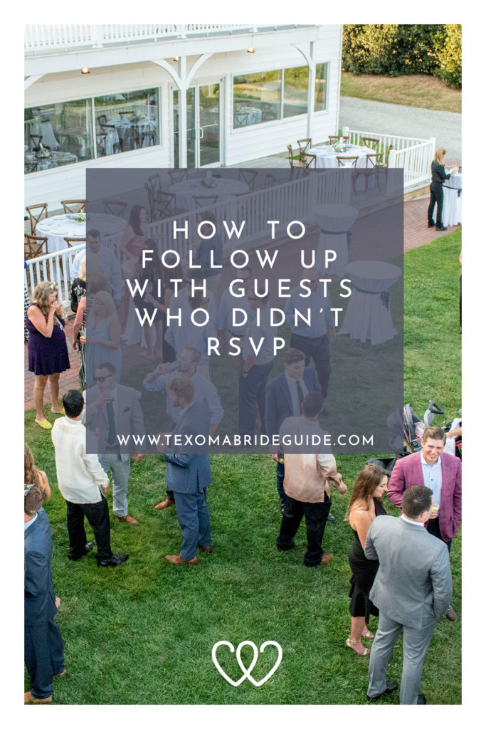How to Follow Up with Guests Who Didn't RSVP | Texoma Bride Guide Blog