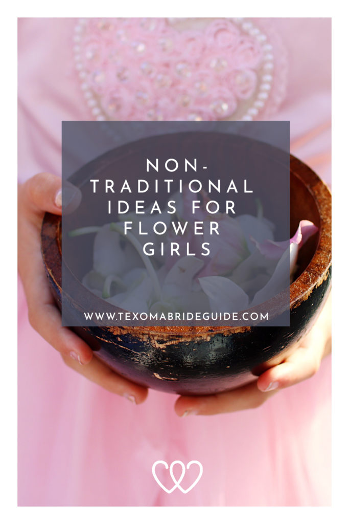 Non-Traditional Ideas for Flower Girls | Texoma Bride Guide Blog
