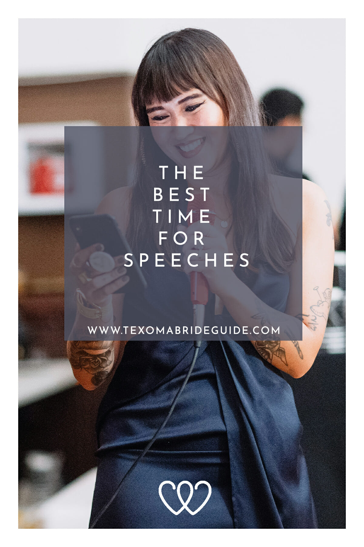 The Best Time for Speeches | Texoma Bride Guide Blog