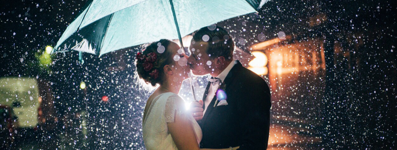 So It Rains On Your Wedding Day - Now What? | Texoma Bride Guide Blog