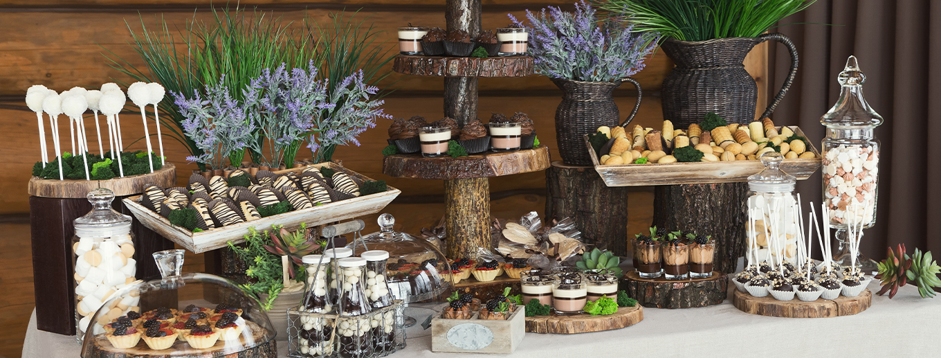 How To Decorate Your Wedding Dessert Table | Texoma Bride Guide Blog