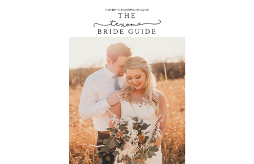 Read Issue 7 of the Texoma Bride Guide wedding planning magazine