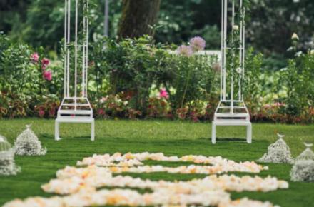 A beautiful outdoor wedding venue in North Texas
